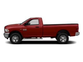 Flame Red Clearcoat 2014 Ram Truck 2500 Pictures 2500 Regular Cab Tradesman 4WD photos side view
