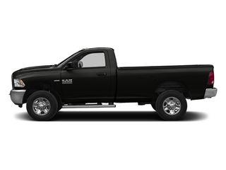 Black Clearcoat 2014 Ram Truck 2500 Pictures 2500 Regular Cab Tradesman 4WD photos side view