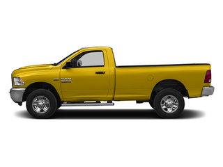 Detonator Yellow Clearcoat 2014 Ram Truck 2500 Pictures 2500 Regular Cab Tradesman 4WD photos side view