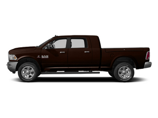 Western Brown 2014 Ram 3500 Pictures 3500 Mega Cab Longhorn 2WD photos side view