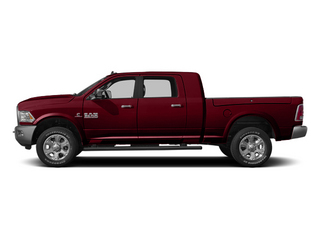Deep Cherry Red Crystal Pearlcoat 2014 Ram 3500 Pictures 3500 Mega Cab Longhorn 2WD photos side view