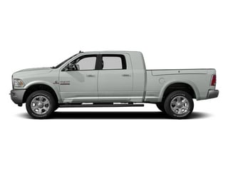 Bright White Clearcoat 2014 Ram Truck 3500 Pictures 3500 Mega Cab Limited 2WD photos side view