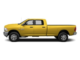 Yellow 2014 Ram Truck 3500 Pictures 3500 Crew Cab SLT 2WD photos side view