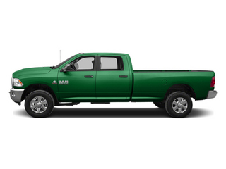 Bright Green 2014 Ram Truck 3500 Pictures 3500 Crew Cab SLT 2WD photos side view