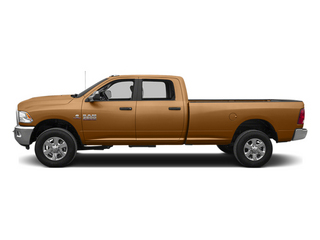 Power Tan 2014 Ram Truck 3500 Pictures 3500 Crew Cab SLT 2WD photos side view