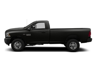 Black Clearcoat 2014 Ram 3500 Pictures 3500 Regular Cab SLT 4WD photos side view