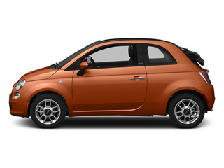 Rame (Copper) 2014 FIAT 500c Pictures 500c Convertible 2D Lounge I4 photos side view