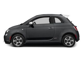 Granito Lucente (Granite Crystal) 2014 FIAT 500e Pictures 500e Hatchback 3D 500e Electric photos side view
