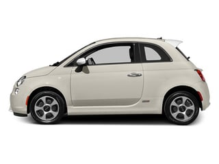 Bianco Perla (Pearl White Tri-Coat) 2014 FIAT 500e Pictures 500e Hatchback 3D 500e Electric photos side view