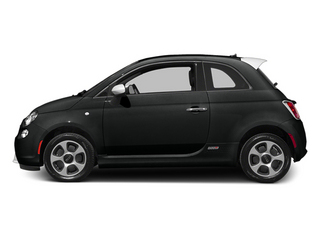 Nero Puro (Straight Black) 2014 FIAT 500e Pictures 500e Hatchback 3D 500e Electric photos side view