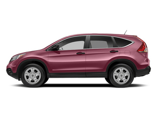 Basque Red Pearl II 2014 Honda CR-V Pictures CR-V Utility 4D LX 2WD I4 photos side view