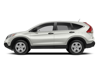 Alabaster Silver Metallic 2014 Honda CR-V Pictures CR-V Utility 4D LX 2WD I4 photos side view