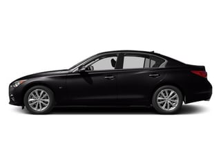 Malbec Black 2014 INFINITI Q50 Pictures Q50 Sedan 4D AWD V6 photos side view