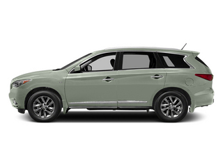 Glacial Silver 2014 INFINITI QX60 Pictures QX60 Utility 4D 2WD V6 photos side view