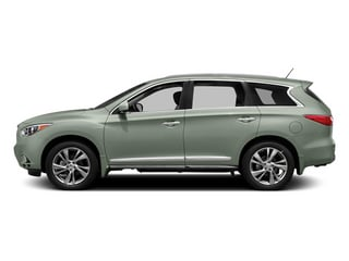 Glacial Silver 2014 INFINITI QX60 Pictures QX60 Utility 4D Hybrid AWD I4 photos side view