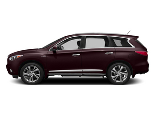 Midnight Garnet 2014 INFINITI QX60 Pictures QX60 Utility 4D Hybrid AWD I4 photos side view