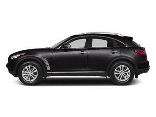 Malbec Black 2014 INFINITI QX70 Pictures QX70 Utility 4D 2WD V6 photos side view