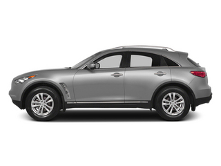 Liquid Platinum 2014 INFINITI QX70 Pictures QX70 Utility 4D AWD V6 photos side view