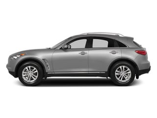 Liquid Platinum 2014 INFINITI QX70 Pictures QX70 Utility 4D 2WD V6 photos side view
