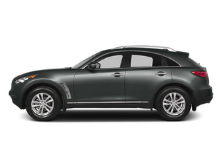 Graphite Shadow 2014 INFINITI QX70 Pictures QX70 Utility 4D AWD V6 photos side view