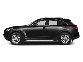 Black Obsidian 2014 INFINITI QX70 Pictures QX70 Utility 4D 2WD V6 photos side view