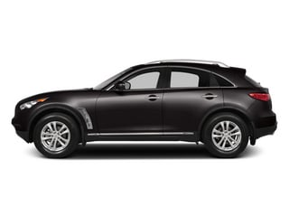 Midnight Mocha 2014 INFINITI QX70 Pictures QX70 Utility 4D 2WD V6 photos side view