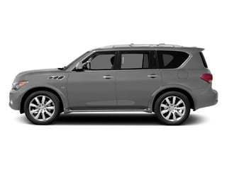 Liquid Platinum 2014 INFINITI QX80 Pictures QX80 Utility 4D 2WD V8 photos side view