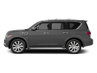 Platinum Graphite 2014 INFINITI QX80 Pictures QX80 Utility 4D 2WD V8 photos side view
