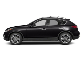 Malbec Black 2014 INFINITI QX50 Pictures QX50 Utility 4D Journey AWD V6 photos side view