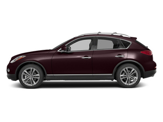 Midnight Garnet 2014 INFINITI QX50 Pictures QX50 Utility 4D Journey AWD V6 photos side view