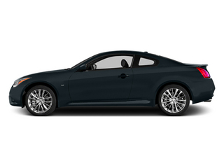 Blue Slate 2014 INFINITI Q60 Coupe Pictures Q60 Coupe 2D Sport V6 photos side view