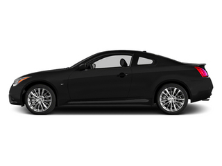 Black Obsidian 2014 INFINITI Q60 Coupe Pictures Q60 Coupe 2D Sport V6 photos side view