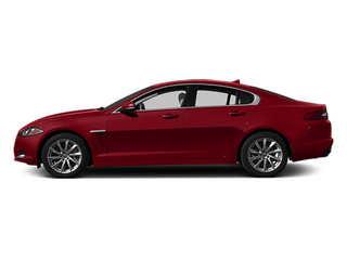 Italian Racing Red 2014 Jaguar XF Pictures XF Sedan 4D I4 Turbo photos side view
