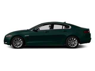 British Racing Green 2014 Jaguar XF Pictures XF Sedan 4D I4 Turbo photos side view