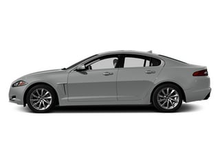Rhodium Silver Metallic 2014 Jaguar XF Pictures XF Sedan 4D I4 Turbo photos side view