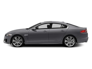 Lunar Gray Metallic 2014 Jaguar XF Pictures XF Sedan 4D XFR V8 Supercharged photos side view