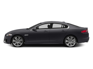 Stratus Gray Metallic 2014 Jaguar XF Pictures XF Sedan 4D XFR-S V8 Supercharged photos side view