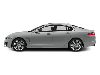 Rhodium Silver Metallic 2014 Jaguar XF Pictures XF Sedan 4D XFR V8 Supercharged photos side view