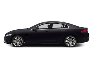 Ultimate Black Metallic 2014 Jaguar XF Pictures XF Sedan 4D XFR-S V8 Supercharged photos side view
