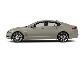 Cashmere Metallic 2014 Jaguar XF Pictures XF Sedan 4D V6 Supercharged photos side view