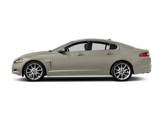 Cashmere Metallic 2014 Jaguar XF Pictures XF Sedan 4D AWD V6 Supercharged photos side view