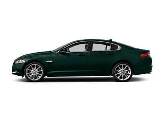 British Racing Green 2014 Jaguar XF Pictures XF Sedan 4D AWD V6 Supercharged photos side view