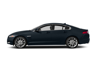 Dark Sapphire Metallic 2014 Jaguar XF Pictures XF Sedan 4D V6 Supercharged photos side view