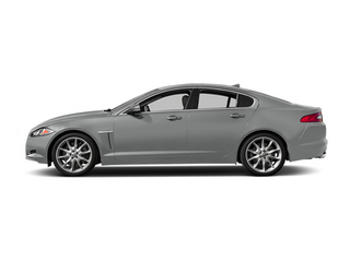 Rhodium Silver Metallic 2014 Jaguar XF Pictures XF Sedan 4D AWD V6 Supercharged photos side view