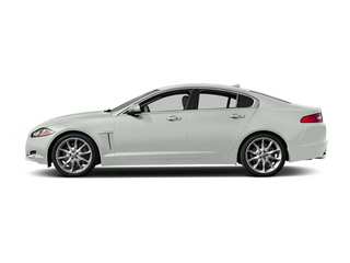 Polaris White 2014 Jaguar XF Pictures XF Sedan 4D V6 Supercharged photos side view