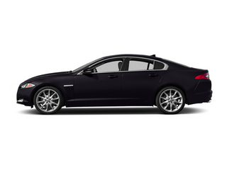 Ultimate Black Metallic 2014 Jaguar XF Pictures XF Sedan 4D V6 Supercharged photos side view
