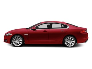 Carnelian Red Metallic 2014 Jaguar XF Pictures XF Sedan 4D V8 Supercharged photos side view