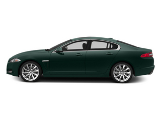 British Racing Green 2014 Jaguar XF Pictures XF Sedan 4D V8 Supercharged photos side view
