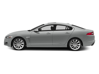 Rhodium Silver Metallic 2014 Jaguar XF Pictures XF Sedan 4D V8 Supercharged photos side view