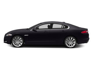 Ultimate Black Metallic 2014 Jaguar XF Pictures XF Sedan 4D V8 Supercharged photos side view